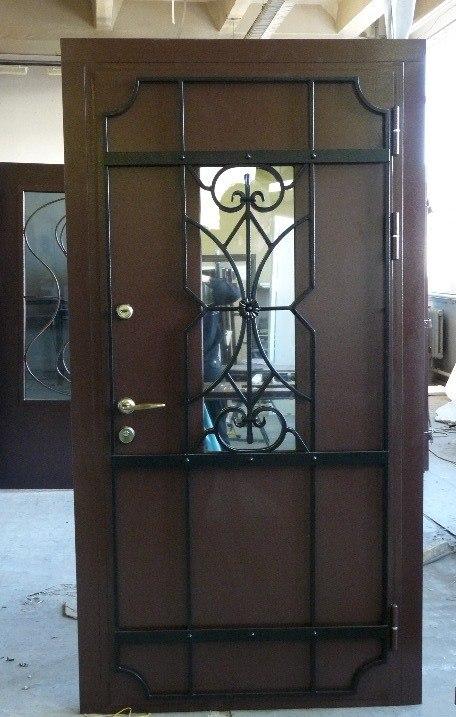 входные стальные двери в загородный дом в воскресенске